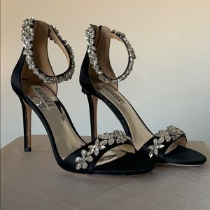 Badgley Miscka Valentine Black Stiletto heels